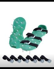 Ohuhu Lawn Aerator Shoes Spikes Aerator Sandals with Metal Buckles for Aerati.