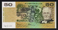 Australia R-509a. (1985) Fifty Dollars - Johnston/Fraser.. Gothic.. UNC