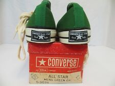 Converse Vintage Chuck Taylor GREEN size 12 All Star