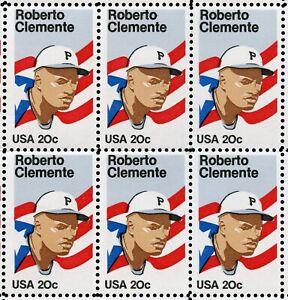 US Scott 2097 Roberto Clemente Baseball GORGEOUS sheet of 50Mint NH