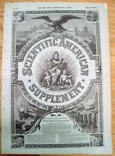 <1876 newspaper COLOR PHOTOGRAPHY ON PAPER Improvements on James Clerk Maxwell