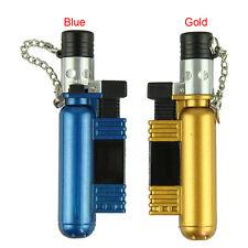 Jet Torch Windproof Cigar Cigarette Refillable Butane Gas Lighter AM-136 O