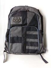 "NEW 686 Snowboard Havoc Gunmetal Gray & Black Laptop Case 15"" Backpack SAMPLE"