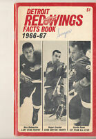 1966 - 1967 Detroit Red Wings Fact Book  press Media guide