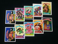 GARBAGE PAIL KIDS - 1987 Topps - 9th Series - Complete Set - 88 Cards - VG - OS9