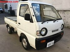 Japanese Mini Truck 1995 Suzuki Carry 4x4 RoadLegal ATV UTV Pickup at No Reserve