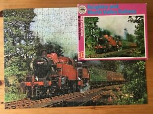 Whitman Keighley & Worth Valley Railway' Jigsaw Puzzle  400 Pieces 1970's Train