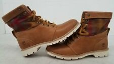 Timberland Pendleton Brown Leather Boot Size Women's 6.5