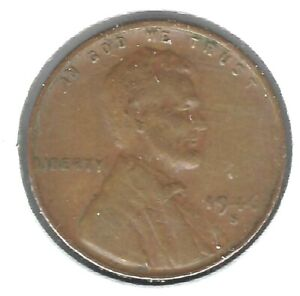 1947-S San Francisco Circulated Business Strike Copper One Cent Coin!
