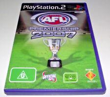 AFL Premiership 2007 PS2 PAL *Complete*