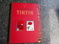 belle reedition tintin double album avec jacquette le lotus bleu -tintin au tibe