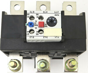 NEW FITS SIEMENS OVERLOAD RELAY OR 3UA6200-3L ADJUSTABLE 135-160AMP 3TF52