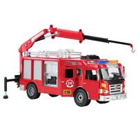 KaiDiWei 1:50 Alloy Engineering Car Model Simulated Fire Fighting Truck Toy