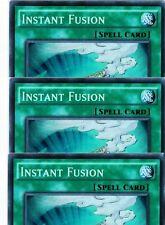 Instant Fusion FUEN-EN042 X 3 1st *English* YUGIOH