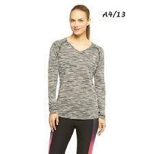 RBX $58 NEW Black Wick-Moist Performance Workout Crossfit Top Tee Plus 2X QCO