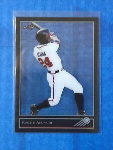 2017 Leaf rookie retro 92 Ronald Acuna clear acetate rookie #18