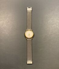 Georg Jensen Ladies Watch 18k Gold     Thorup and Bonderup Design 1346