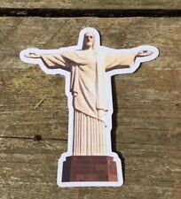 Christ The Redeemer Brazil sticker