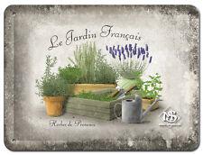 Nostalgie Blechschild - Jardin Francais - Blechschilder