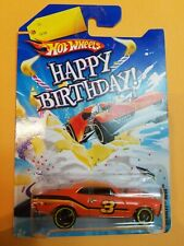 Hot Wheels Happy Birthday '68 Chevy Nova Great Card