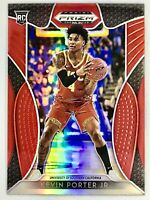 2019-20 Panini Kevin Porter Jr. Silver Red Prizm Rookie Card RC Houston Rockets
