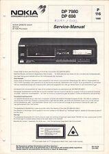 NOKIA - DP 7980 DP 698 - P 116 - Service Manual Schaltbild - B2919