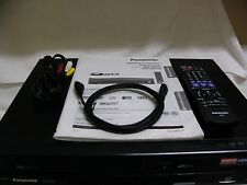 Panasonic DMR-EZ475, MINT, HDMI,VHS/DVD 2-Way Dubbing Recorder w/Digital Tuners