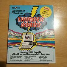 Media Vision Thunderboard - Alte Soundkarte mit Box und Disketten