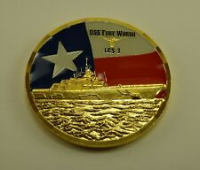 Littoral Combat Ship (LCS) USS FORT WORTH (LSC-3) Challenge Coin