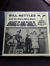 BILL NETTLES SHAKE IT AND TAKE IT CD Cowboy Country Western Music Cattle Compact