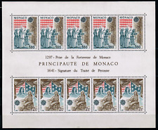 TIMBRES MONACO Année 1982 BLOC EUROPA n°22 NEUF**