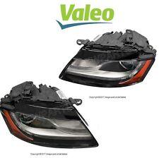 NEW Audi A5 Quattro Pair Set of 2 Front Bi-Xenon Headlights Assembly Valeo