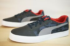 Puma RBR Wings Vulc STPD Unisex Trainers Shoes Size UK 5 / EU 38 Grey (MDB)