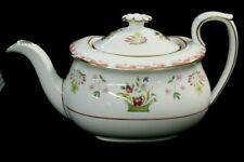 Wedgwood Bone China England Bianca Teapot & Lid R4499 Williamsburg Mark Mint
