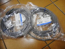 OMRON LIMIT SWITCHES -- QUANTITY of 2 -- PLUNGER HEAD Pre-wired -- D4C-1433