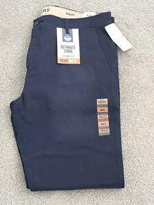Levi's Dockers Ultimate Chino Trousers Slim Fit Smart 360 Flex W38 L34 BNWT Navy