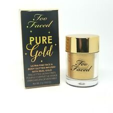 Too Faced Pure Gold Ultra-Fine Face & Body Glitter Infused with Real Gold 2g