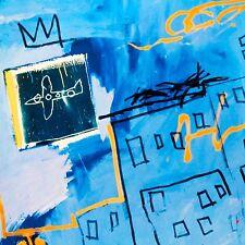 JEAN-MICHEL BASQUIAT ESTATE BLUE ART PRINT POSTER