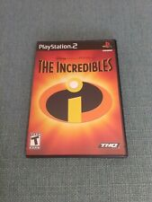 The Incredibles (Sony PlayStation 2, Ps2, 2004) Complete with Manual Tested