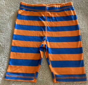NEW Circo Boys Orange Blue Striped Snug Fit Pajama Shorts 10