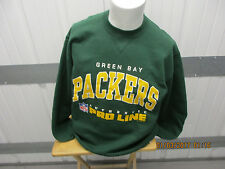 VINTAGE RUSSELL ATHLETIC GREEN BAY PACKERS LARGE CREWNECK SWEATSHIRT NEW W/ TAGS