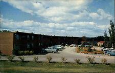 Ithaca New York USA America postcard ~1960 Cornell Heights Residential Club