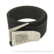 Scuba Diving Weight Belt Black Nylon With Stainless steel Buckle