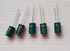 Capacitors - 5x HIGH Quality Sanyo 1000uf 10v