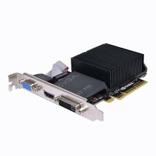 EVGA GeForce GT 710 2GB DDR3 PCIe DVI/VGA Video Card w/HDMI 02G-P3-2712-RX