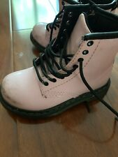 Dr. Martens Baby Pink Toddler Boots Size 8