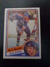 Mark Messier 1984-85 O-PEE-CHE #254 Hockey Card EX Condition Edmonton Oilers