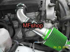 Black Green For 2007-2009 Hummer H3 3.7L L5 Cold Air Intake System Kit + Filter