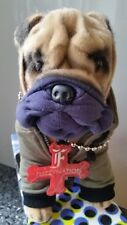 Sharpei Nuff Said Cuddly Dog from Fuzzy Nation with gift box