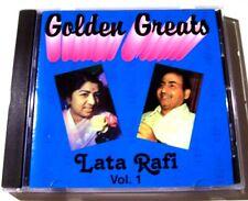 Lata Mangeshkar & Mohd. Rafi - Golden Greats Volume 1 - Bollywood CD Like New!